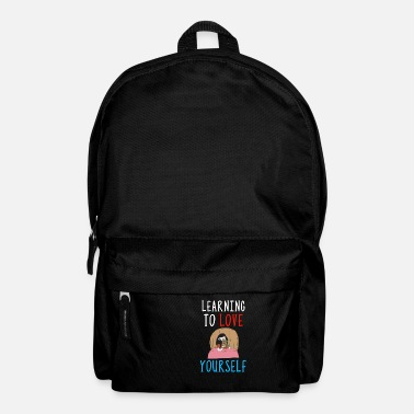 Selfconfidence Learning To Love Yourself Self Confidence Self - Backpack