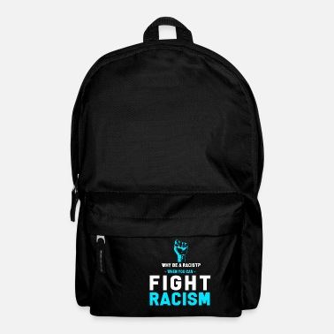 Anti Racism Anti-racism Anti Against Racism Nazis Right - Backpack