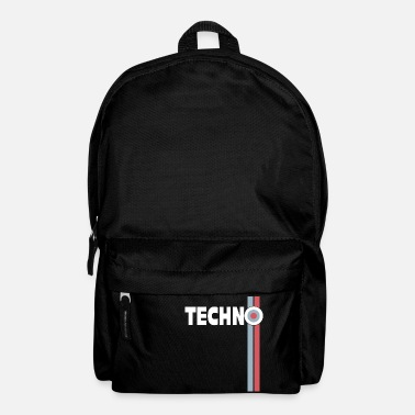 Nu Rave Techno Rave House Retro Party DJ Beats Gift - Backpack