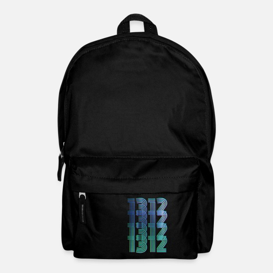 3d Bags & Backpacks - 1312 ACAB NEON party shirt provocation - Backpack black