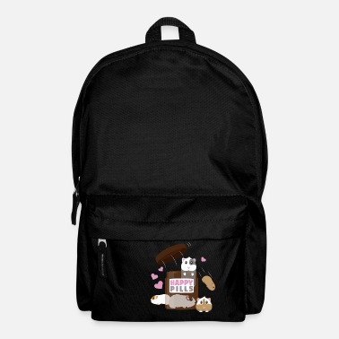 Guinea pig good mood pills Funny gift - Backpack
