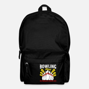 Gag Bowling Alley: The Poor Man's Country Club - Backpack