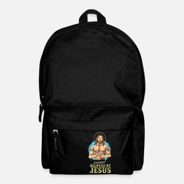 Retro Jesus Favorite I Beloved By Jesus I For Believer - Rucksack