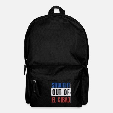 Spanish Dominican Republic design - Straight Outta - Backpack