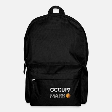 Occupy Occupy Mars - Elon Musk SpaceX Project Idées cadeaux - Sac à dos