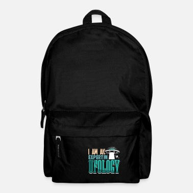 Ufology I'm An Expert In Ufology Alien Shirt Design - Backpack