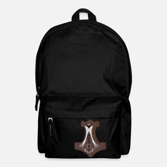 Thor Bags & Backpacks - Thor Hammer mjolnir - Backpack black