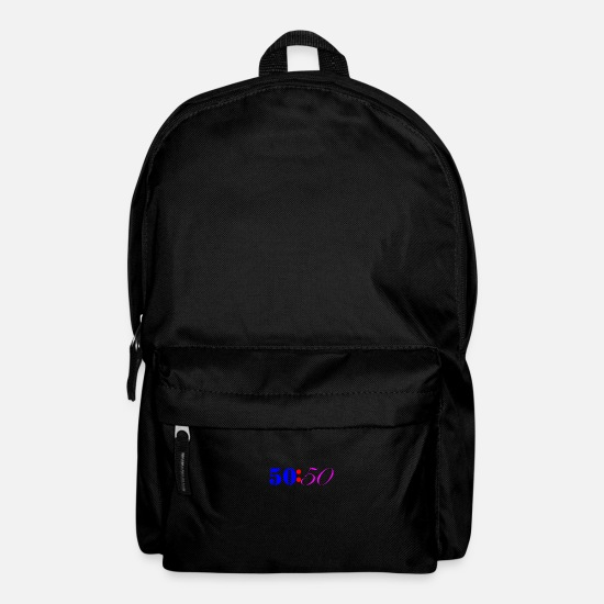 British Bags & Backpacks - Fifty Fifty Colours - Backpack black