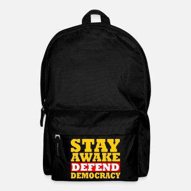 Democracy Defend democracy - Backpack