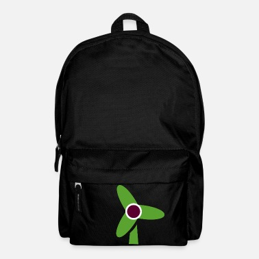 Wind windmill windmill wind turbine windrad13 - Backpack