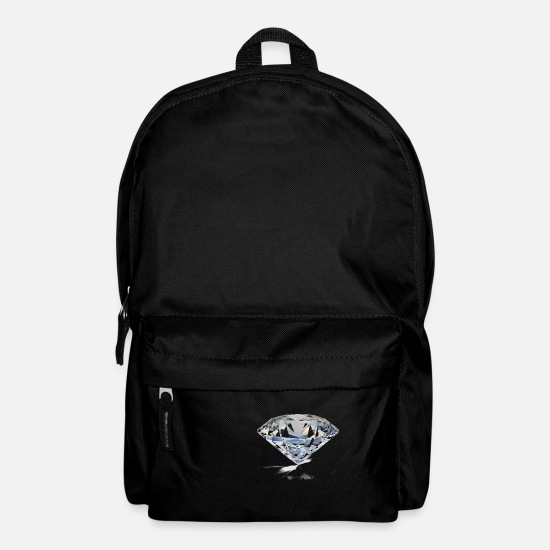 Wealthy Bags & Backpacks - diamond - Backpack black
