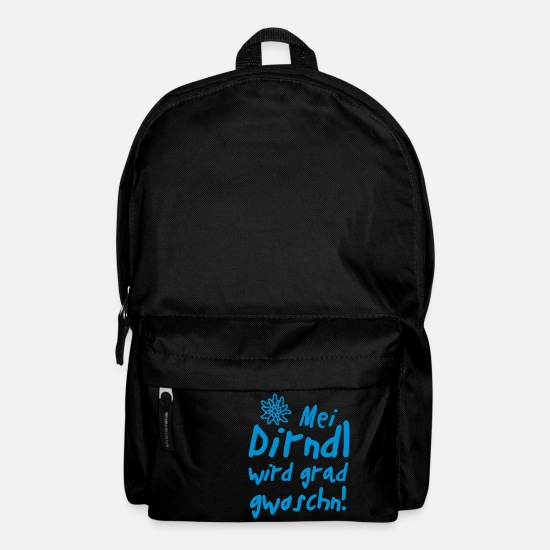 "Clean Bags & Backpacks - ""Mei Dirndl grad gwoschn"" 