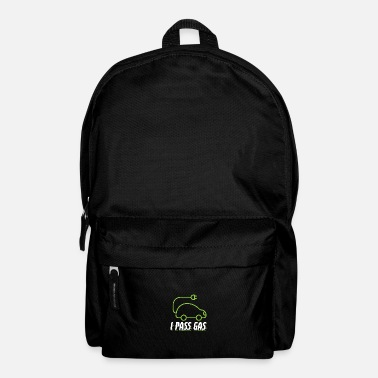 Electricity Funny Electric Mobility Design Quote I Pass Gas - Backpack
