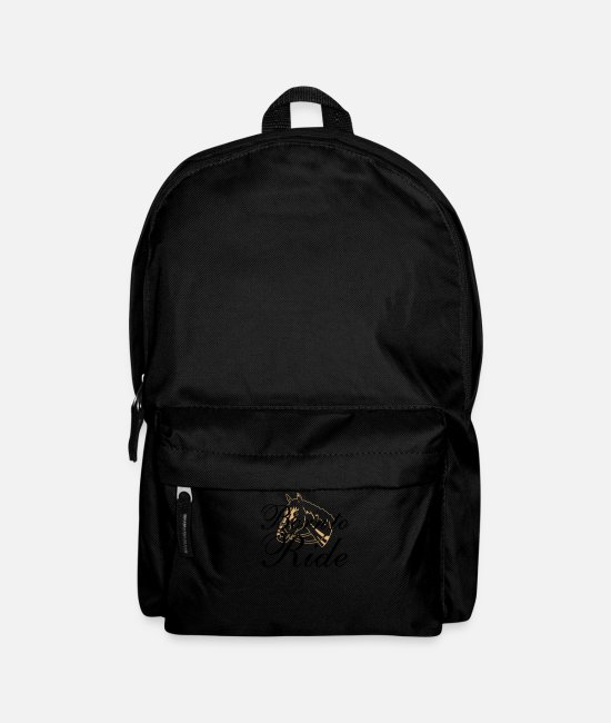 Reitschule Bags & Backpacks - Stallion Dark Shirts - Backpack black