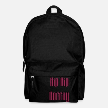 Hip Hip Hip Horray - Backpack