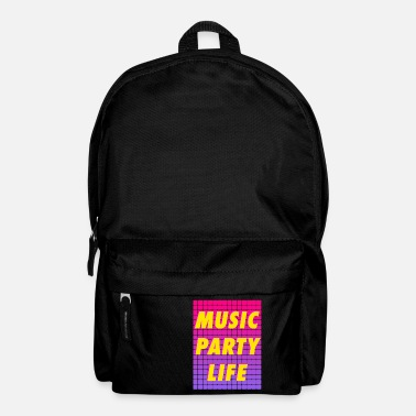Party MUSIC PARTY LIFE - Backpack