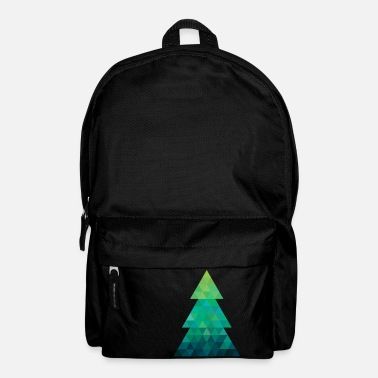 Modern style Christmas tree XMAS - Backpack