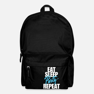 Party eat sleep Party - Backpack