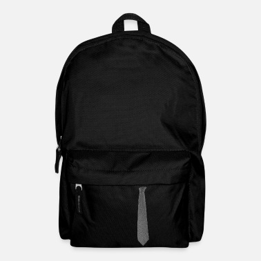 Grey Grey Tie - Backpack