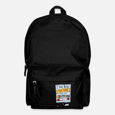 Sarcasm Funny Naughty Witty Sayings School - Backpack
