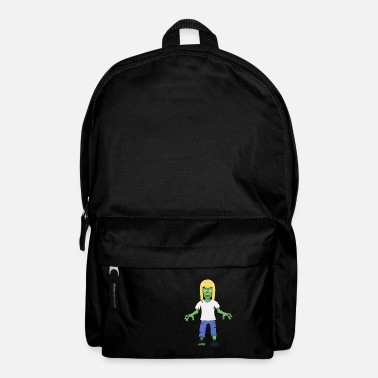 Evil Zombie Girl with Blonde Hair - Backpack