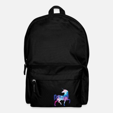 Unicorn with constellation design - Backpack