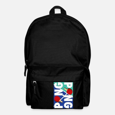 Sport Ping Pong sports racket design - Backpack