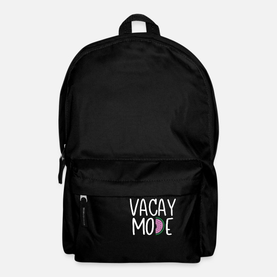 Vacation Bags & Backpacks - Vacay Mode - Backpack black