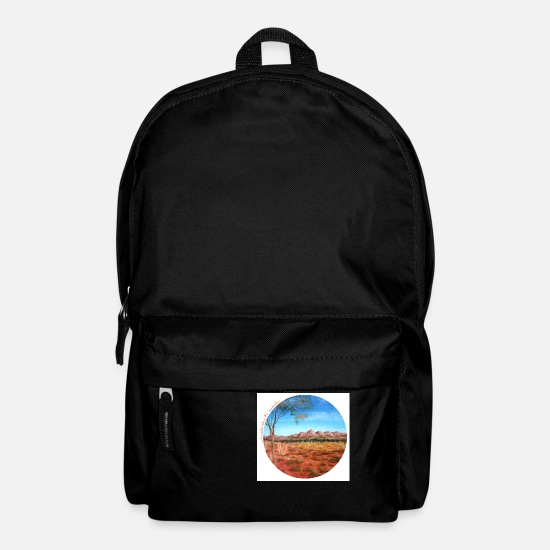 Travel Bags & Backpacks - longing shirt 1 australia - Backpack black