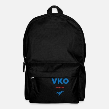 Russia VKO Moscow Russia Russian gift saying - Backpack