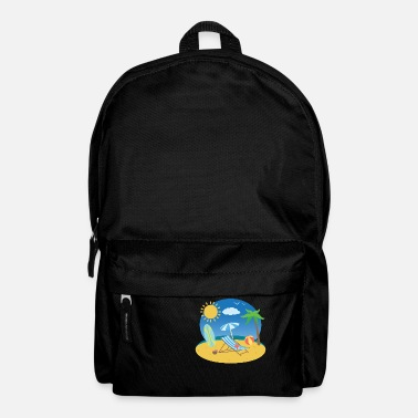 Summer Holiday Beach - Backpack