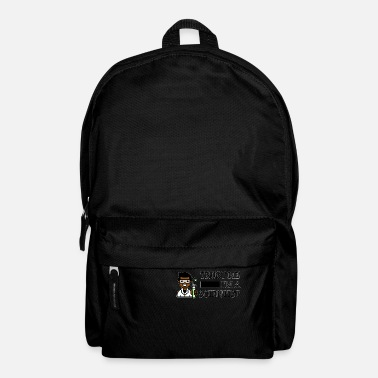 Trust me I'm a scientist male black - Backpack