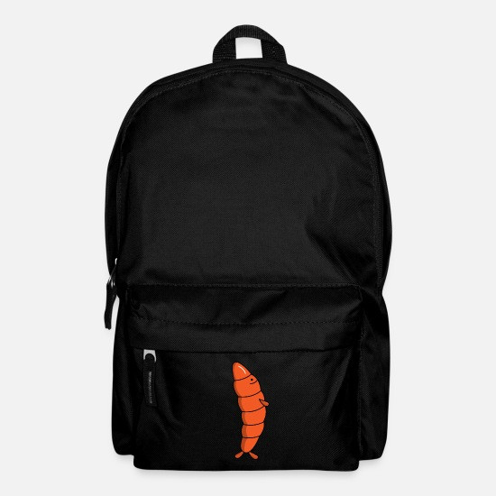 Shrimp Bags & Backpacks - Mister shrimp tail - Backpack black