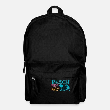 Portugal Beach Vibes Only Sun Beach Ocean - Backpack