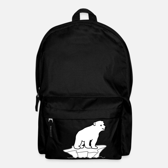 Polar Bear Bags & Backpacks - Polar Bear - Backpack black
