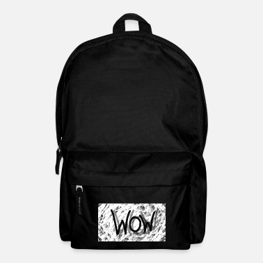 Spreadshirt Spreadshirt WOW - Backpack