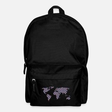 Shop World Map Backpacks Online Spreadshirt