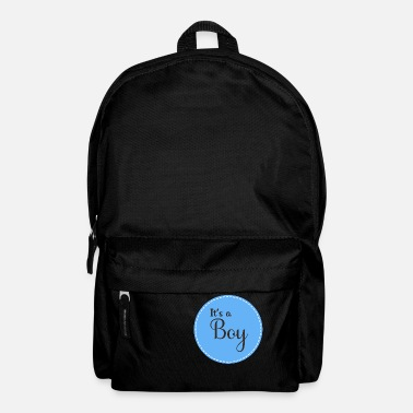Boy boy Its A Boy - Backpack