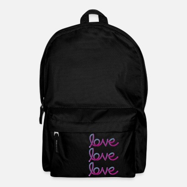 Love T-Shirt - Backpack