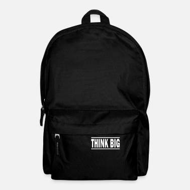 Unique Think Big T-shirt | texte unique T-shirts - Sac à dos