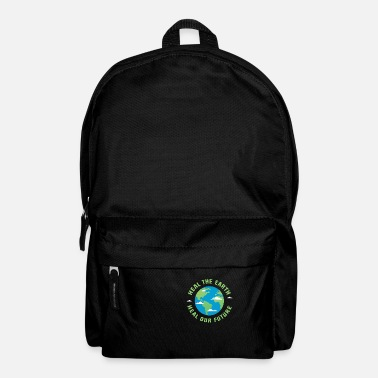 Healing Heal the earth heal our future - Backpack