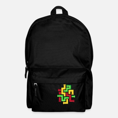 Pattern Pipe Pattern - Backpack