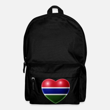 Geographic Heart (The Gambia) - Backpack