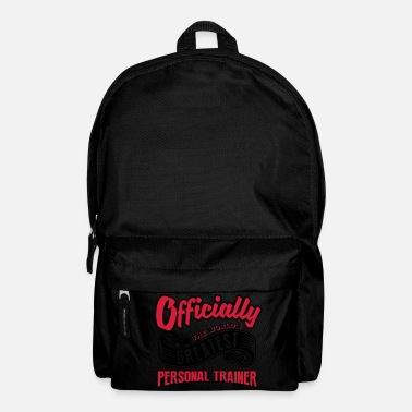 Official Person Officially greatest personal trainer wor - Backpack