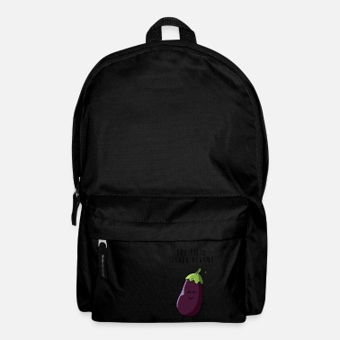 I am happy being vegan - Backpack