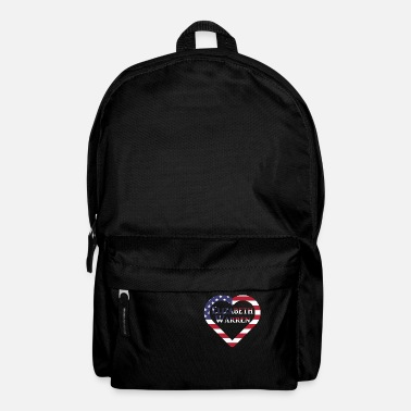 Us Elizabeth Warren in US Heart US Election 2020 - Rucksack