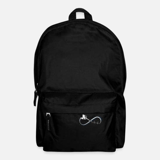 Driver Bags & Backpacks - Truck Truck Forwarding Gift · Heartbeat - Backpack black