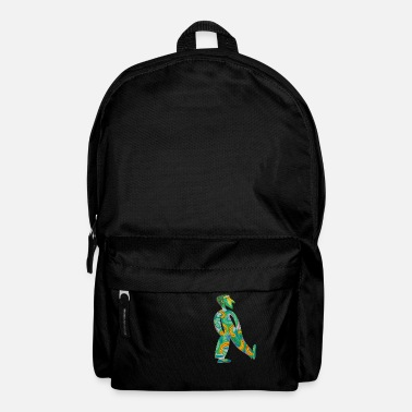 Retro Spaziergänger 80er Kunst Fitness Motivation - Rucksack