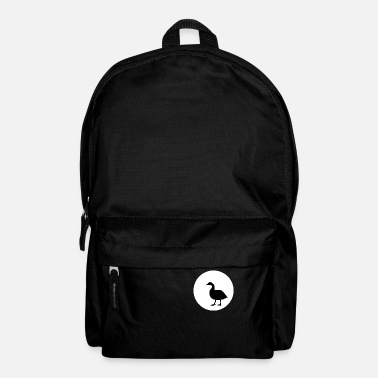 Cuckoo Goose and Moon T-SHIRT - Backpack