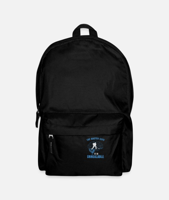 Tennis Bags & Backpacks - Ice hockey - incurable - Backpack black